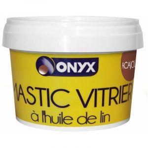 Mastic vitrier - à l'huile de lin - Acajou (1 kg) - Poids : 1 KG