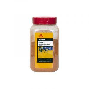 Colorant en poudre pour ciment, chaux et plâtre SIKA SikaCem Color - Ocre - 400g