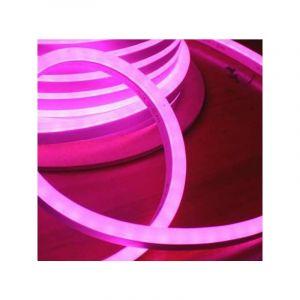 Leclubled - Néon LED Flexible lumineux   Rose - 10m