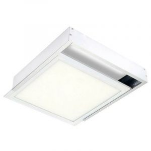 Kit en Saillie BLANC pour Panneau LED 30x30 Slim - Blanc - SILAMP