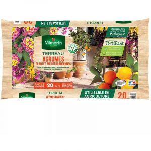 Terreau agrumes plantes méditerranéennes sac de 20 litres - Vilmorin