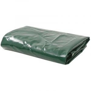 Bâche 650 g / m² 5 x 6 m Vert - VIDAXL