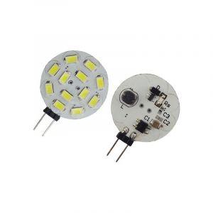 Lampe LED G4 10-30V 2W5 blanc chaud diamètre 30 mm - OHM-EASY LED LIGHTING