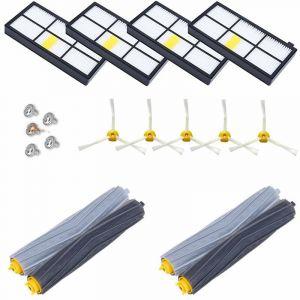 Kit Pièces accessoires pour iRobot Roomba serie 800 850 851 860 865 866 870 871 876 880 885 886 890 891 896 900 960 966 980 ect - STOEX