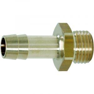 KS TOOLS 515.3387 Raccords de filetage mâle pr tuyaux 1/4''Gx6mm clé 17mm - L.35mm - KSTOOLS