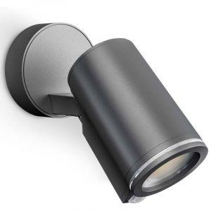 Projecteur LED extérieur avec détecteur de mouvements 7 W 1x GU10 blanc chaud Steinel SPOT ONE S CONNECT ANT 058630 anthracite 1 pc(s)