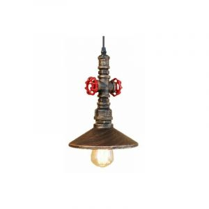 Rétro Suspension Lustre Industrielle Lampe de Plafond de Tuyau d'eau - STOEX