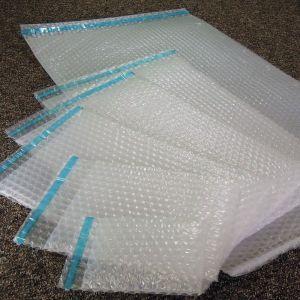 Lot de 50 Sachets bulles d'air 200x300 mm avec rabat adhésif - ENVELOPPEBULLE