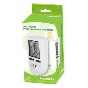Prise Mesureur D'Energie / Wattmètre - EQWERGY