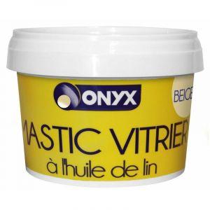 ONYX - Mastic vitrier à l'huile de lin - beige - 500 g - ONYX/ARDÉA GROUPE