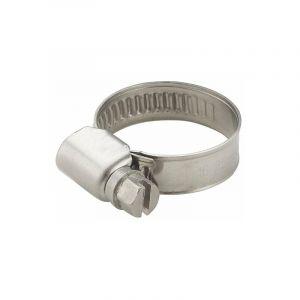 Collier acier largeur 9mm serrage diamètre 25-40 mm (x2) - AROZ