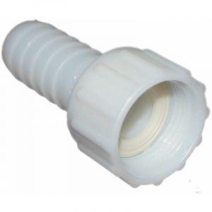 Codital - Raccord cannelé polyamide écrou libre 33x42 pour tuyau 32mm