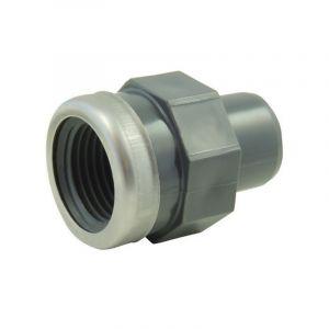 Adaptateur PVC pression à visser renforcé MF Codital Ø25-3/4 de Codital - Raccord PVC pression