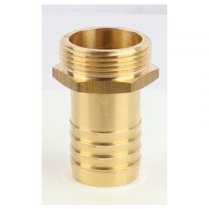 Embout mâle laiton (40 - 40 x 49 - 41,5) - Ø tuyau mm : 40 - Filetage : 40 x 49 - BOUTTé