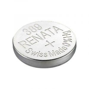 Pile bouton oxyde d'argent 389 1 pc(s) X37921 - RENATA