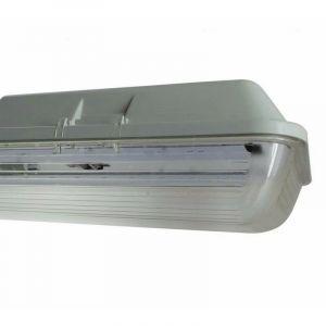 Silamp - Réglette LED étanche Double pour Tubes lumineuse LED T8 150cm IP65 (boitier vide)