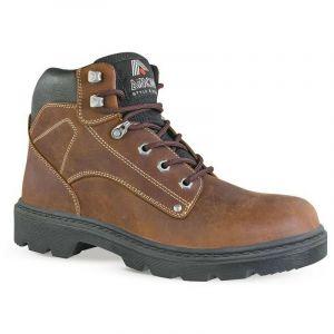 Chaussure de sécurité montante SCOTLAND S3 SRC - Aimont - Marron - 44 - taille: 44