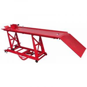 Pont élévateur plateforme hydraulique pour moto 450 kg - VIDAXL