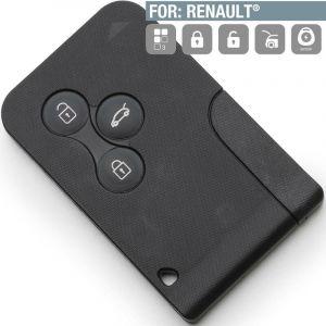 Carte de démarrage 3 Boutons Renault Scénic 2, Megane 2 - SILCA