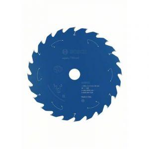Bosch Lame de scie circulaire Expert for Wood, 254 x 2,1/1,6 x 30, 24 dents - 2608644524