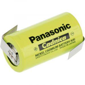 Pile rechargeable spéciale LR14 (C) cosses à souder en Z NiCd Panasonic C ZLF 1.2 V 3000 mAh