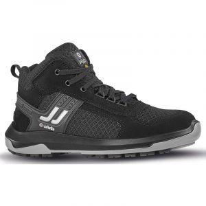 Chaussure de sécurité montante en cuir embout Prem-Alu JALTHIA SAS ESD S1P SRC - JHJH402 - Jallatte - Noir - 44 - taille: 44