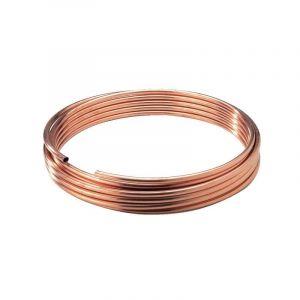 Tube cuivre recuit - Diamètre 16 mm - la couronne de 50 m - REYNOLDS