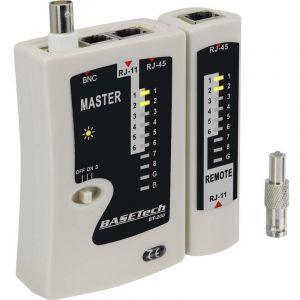 Testeur de câbles Basetech BT-200