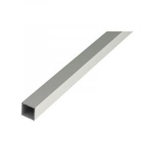 Aluminium tube carré 1000/10x10x1mm argent - ALBERTS