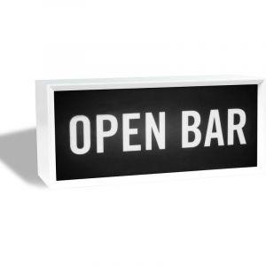 Skylantern - Lightbox Open Bar - Blanc