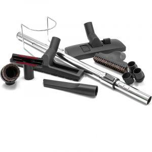 vhbw Set d'accessoires pour aspirateur universel 9 pièces pour aspirateur Philips, AEG, Electrolux, Dirt Devil, Rowenta, LG, Miele, Bosch, Siemens