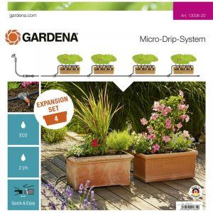Kit dextension pour jardinières GARDENA Micro-Drip System 13006-20 Ø 13 mm (1/2) 10 m