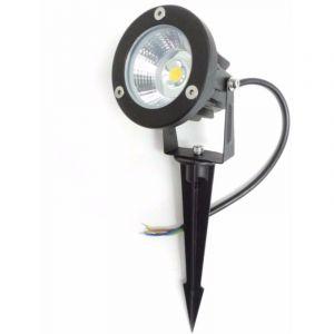 Spot LED extérieur à Piquer IP65 6W COB - Blanc Neutre 4000K - 5500K - SILAMP