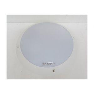 Hublot extérieur Ø 300mm polycarbonate blanc antivandale pour lampe E27 230V (non incl) IK10 IP66 TRAJECTOIRE 002254