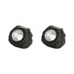 Lampe de balisage LED solaire ROCKY x 2 - LUMISKY