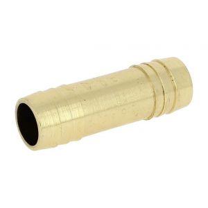 Jonction laiton égal cannelé O26 - ANQUIER