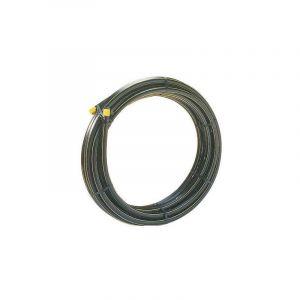 Tube polyéthylène Bande Jaune (pour gaz) - PE 80 - Diamètre 40 mm - le rouleau de 100 m - POLYPIPE