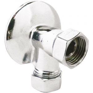 Somatherm For You - Applique murale chromée M15/21 EP15/21 Ø55mm