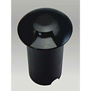 Petit Spot 0,75W LED Encastrable 1 Direction | Noir - Blanc Chaud (2700K) - LECLUBLED
