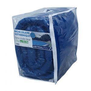 Bâche à bulles bleue 230 µ ovale 7.30 m x 3.70 m de Astralpool - Catégorie Bâche à bulles