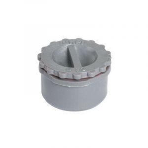 Bouchon de visite PVC gris - Ø 125 mm - Girpi