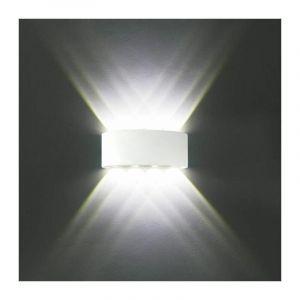 Appliques Murales Interieur LED Lampe 8w étanche Moderne pour Chambre Maison Couloir Salon ( Blanc Froid ) - STOEX