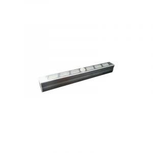 Müller Licht 57015 Lampe LED pour montage sous un meuble avec détecteur de mouvements 0.7 W blanc froid transparent