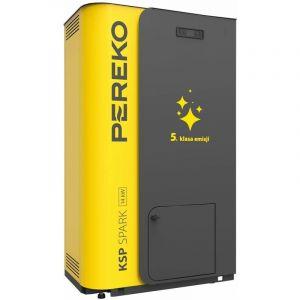 Chauffage efficace de puissance de 18kw 5ème classe d'énergie chaudière bois pellet pereko ksp étincelle - PER-EKO