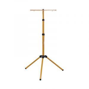 Trépied projecteur tripod jaune hauteur réglable 650/1600 mm - VISION-EL