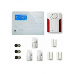 Alarme maison sans fil ICE-B28 Compatible Box internet et GSM - TIKE SéCURITé