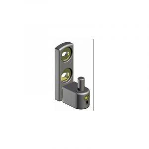 Gond de portail à visser et réglable, noir - SéLECTION BRICO-TRAVO