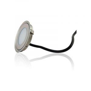 Mini spot LED encastrable rond ultra-plat - RGB Multicolore - LECLUBLED
