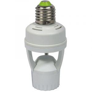 Adaptateur ampoule LED E27 détecteur de présence intégré - BARCELONA LED