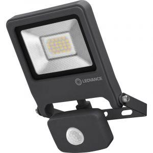 OSRAM Projecteur a LED Endura Flood Sensor - 20 W - Noir chaud